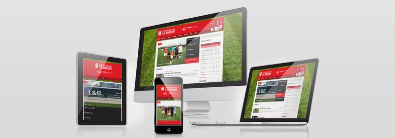 Nieuwe website vvworkum.nl gebouwd door ZWF ontwerp
