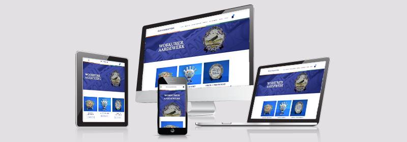 Website Workumer Aardewerk