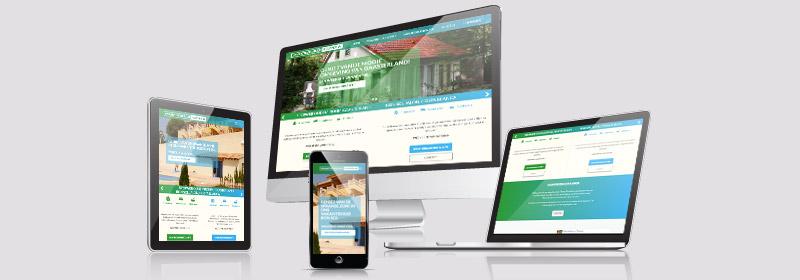 Nieuwe website voor Vakantieverhuur Flapper