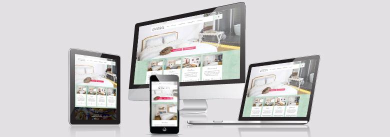 Voorbeeld van de website Hotel Wymerts